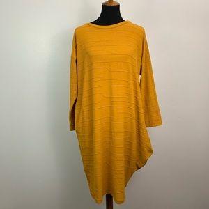 OSKA | Oversized Midi Dress Lagenlook Size 6/8